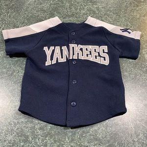 Majestic New York Yankees Toddler Jersey Size 2T